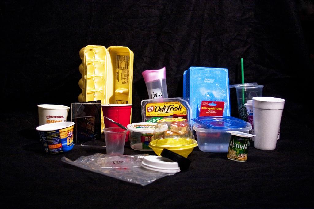 Plastics 3 through 7